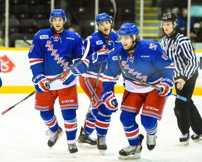 The Kitchener Rangers. Photo by Aaron Bell/OHL Images