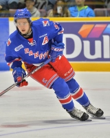 Jeremy Bracco of the Kitchener Rangers. Photo by Terry Wilson / OHL Images.