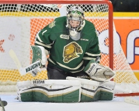 Tyler Parsons of the London Knights. Photo by Terry Wilson / OHL Images.