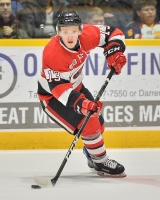 Artur Tyanulin of the Ottawa 67's. Photo by Terry Wilson / OHL Images.