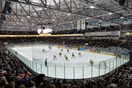Sarnia Sting hosting the Kitchener Rangers on March 14, 2018.