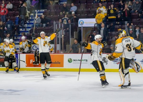 Sarnia Sting, Windsor Spitfires, 2018 OHL Playoffs
