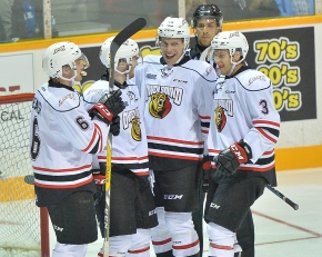 BY THE NUMBERS: Owen Sound vs London