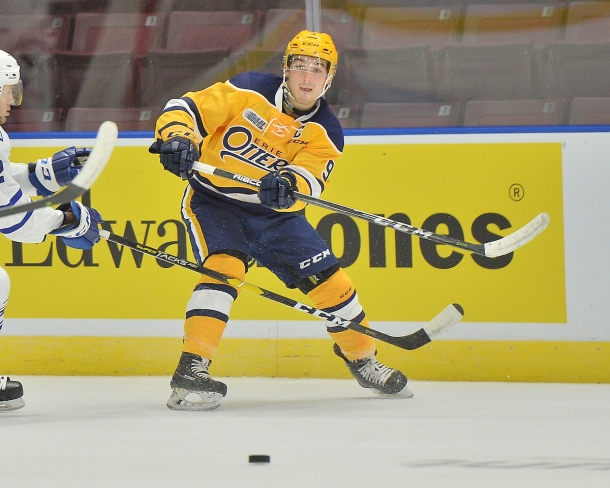 Kyle Maksimovich of the Erie Otters. Photo by Terry Wilson / OHL Images.