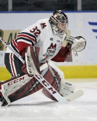 Anthony Popovich of the Guelph Storm (Photo by Luke Durda)