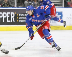 Rangers forward named OHL Player of the Week