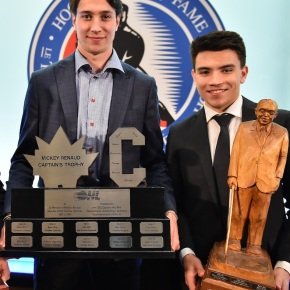 Awards cap off a memorable season for a pair of childhoodfriends