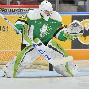 Playing hockey, making movies. Such is the life of London Knights goaltender Dylan Myskiw