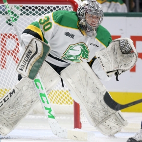 Brett Brochu's big rookie season for the London Knights